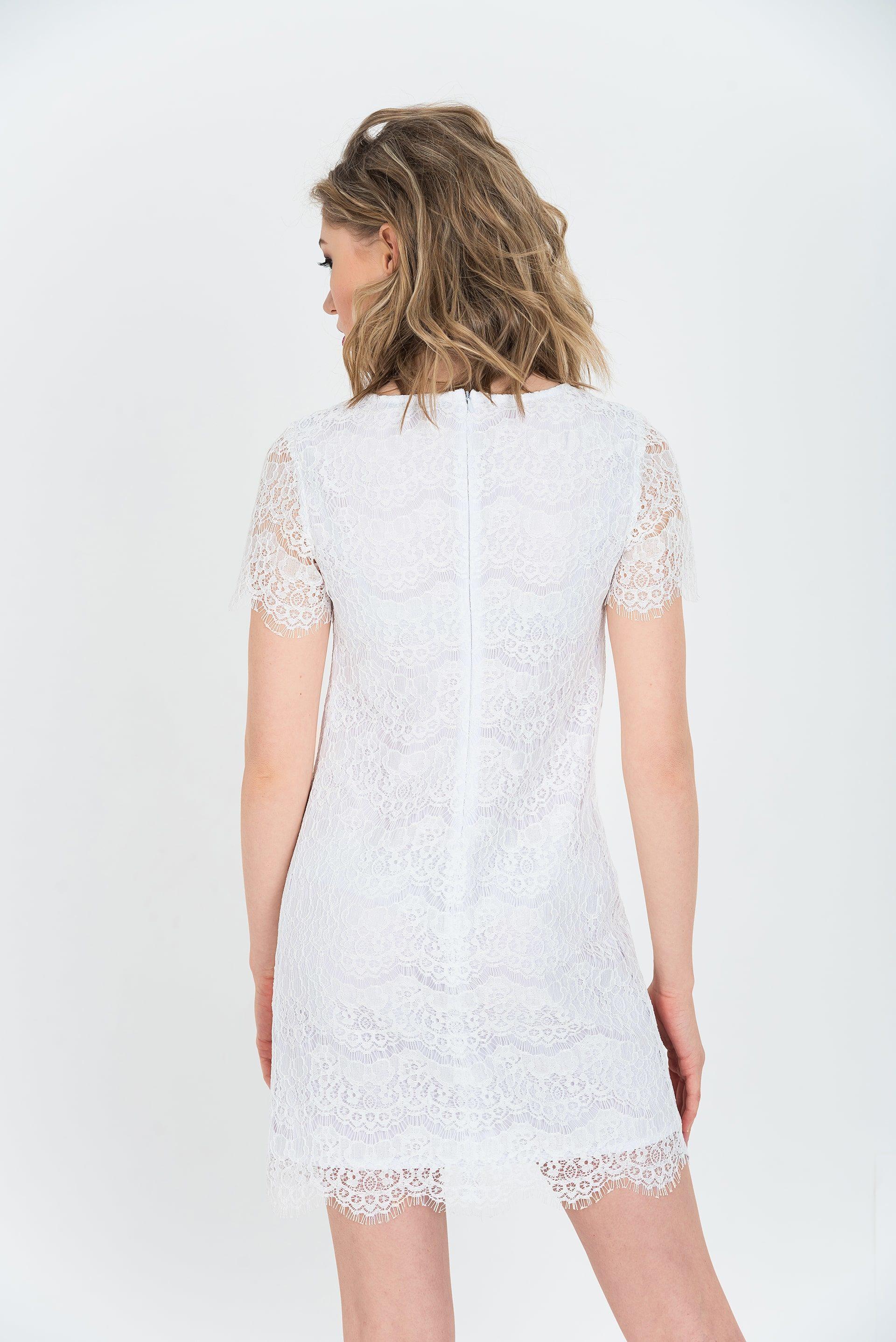Платье с поясом - 40